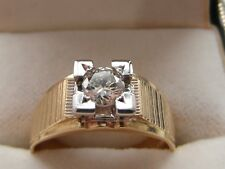 Q44 Stunning Ladies / Gents 18ct gold 0.58 carat VVS2 H Diamond solitaire ring