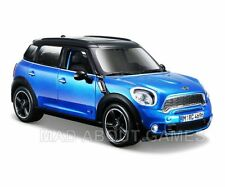MINI COUNTRYMAN 1:24 Scale Diecast Car Model Die Cast Toy Cars Models Blue