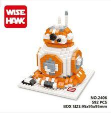 BB-8 Starwars Wise-hawk Nano Block Building blocks Gift Disney