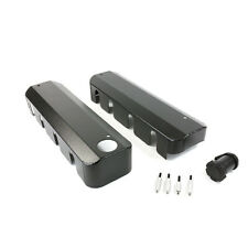 GM LS1/LS2/LS3  Aluminum Black Fabricated For Ignition Coil Covers Fill Neck