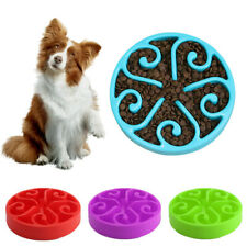 Healthy Puppy Dog Slow Food Feeder Bowl Interactive Anti Choke Gulp Pet Cat Dish