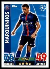 Match Attax Champions League 15/16 Marquinhos PSG No. 58