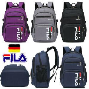 FILA Herren Damen Freizeit Rucksack Sport Backpack Wandern Reise Schulrucksack