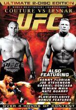 UFC 91 Couture Vs. Lesnar (DVD) VGC 2 disc set MMA - 9 bouts