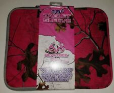 "Pink Camo 10"" Apple iPad & Android Tablet Sleeve/Case/Cover by RealTree NEW"