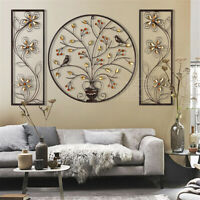 Carved Tree Of Life Wall Hanging Wooden Sculpture Ornament Home Office Art Decor