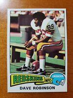 1975 Topps #46 Dave Robinson NM-MT HOF Washington Redskins / Penn State  Packers