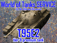 World of Tanks - T95E2 - Tier 8 Premium Tank - EU, NA, RU, SEA server