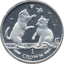 elf IOM Isle of Man 1 Crown 2004 Tonkinese Cat  Kittens  Butterfly