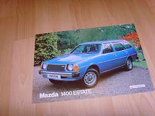Car brochure 1979 Mazda 1400 Estate