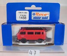 Roco 1/87 No.1458 Ford FK 1250 Feuerwehr St. Gilgen OVP #047