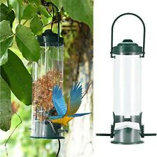 Wild Bird Metal Feeder Hanging Feeders Viewing Window Garden Yard Decor 2020