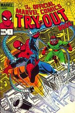 The Official Marvel Comics Try-Out book (No. 1), by Jim Shooter 1983 Paperback!