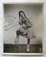 ORIGINAL BETTY LOU KEIM AUTOGRAPH 8x10 PHOTO 1930s WARDROBE MISTRESS COLLECTION