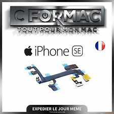 NAPPE FLEX BOUTON POWER ON/OFF + VOLUME + VIBREUR + MICRO + FLASH IPHONE SE