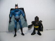"Imaginext Batman with Cowl+Cape, 5"" Blue Camo Bat Man Action Figures"