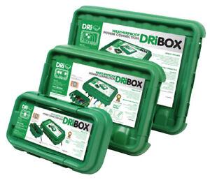 Dribox Weatherproof Dri-Box Waterproof Outdoor Plastic Enclosure for Electrics
