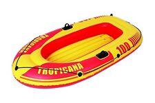 Jilong Tropicana gonflable Aviron Pêche Rafting Bateau kayak gonflable