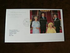 Royalty Used Great Britain First Day Covers (1971-Now)
