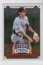 2015 Panini Stars & Stripes Longevity #93 Trea Turner RC, Washington Nationals