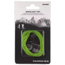 - Salomon Lacci Scarpe Quicklace kit Green