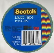 New listing New Scotch Duct Tape Roy-G-Biv Rainbow Lgbt Gay Pride Rights