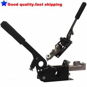 Hydraulic Assist Hand Brake Handbrake Rally E-Brake Lever Handle Arm Kit Set