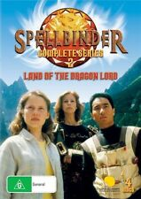SPELLBINDER - SERIES 2 -  LAND OF THE DRAGON LORD (4 DVD SET) NEW!!! SEALED!!!
