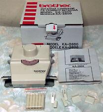 KA2600 INTARSI CARRIAGE for BROTHER Knitting Machine KH260 KH270