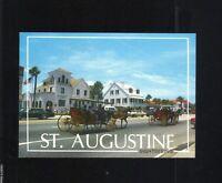 ST. AUGUSTINE SIGHTSEEING 4X6 POSTCARD GULFSTREAM CARD CO. FLORIDA