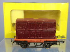 "VINTAGE TRIX / LILIPUT MODEL No.1617 BR CONTAINER FLAT""A"" WAGON   VN MIB"