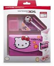 Nintendo 3DS hello kitty essentials pack inc case stylet etc nouveau 3DS DSi version