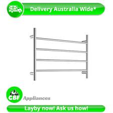 Round 4 Rung Bathroom Towel Ladder 500mm x 700mm Stainless Steel Non Heated