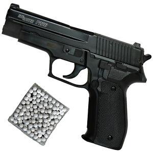 Sig Sauer P226 H.P.A. Airsoft Pistole Federdruck <0,5 Joule, Metallschlitten