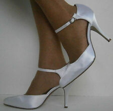 Strappy/Ankle Straps Satin Bridal Shoes