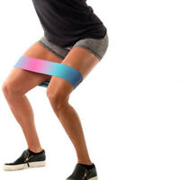 Multicolor Latex Slip Resistance Bands Elastic Bands Exercise for Thigh Hips  gt