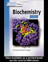 BIOS Instant Notes in Biochemistry,David Hames, Nigel Hooper- 9781859961421