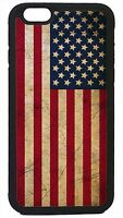 American Flag USA Grunge Black or White Case Cover for iPhone 4s 5 5s 5c 6 6+