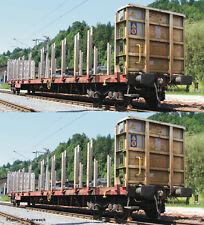 Roco H0 76141 Rungenwagen, Set 2-tlg. RCA *Neuware*