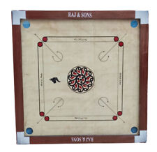 Nautical Collectible Wooden New Carrom Bord with Queen Coins Best Quality