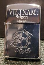 "Retro Copy Vietnam War Style Wind Proof Lighter:  ""U.S.M.C"""