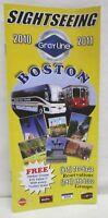 Sightseeing 2010 2011 Grayline Boston & Cape Cod Bus Transportation Booklet