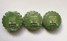 Yankee Candle SNOW DUSTED BAYBERRY TARTS WAX MELTS X 3 HTF HOLIDAY SCENT