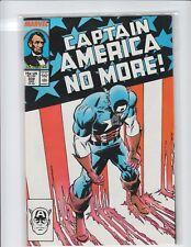 Captain America #332 (August 1987, Marvel) NM/MINT 9.8 Old Cap' resigns