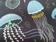 Michael Miller into the deep jellyfish 100% cotton, half metre, free p&p,