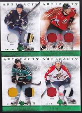 12-13 Artifacts Stephen Weiss /75 Jersey Patch Emerald Green  2012
