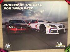 BMW Racing Chosen By The Best Michelin IMSA Poster