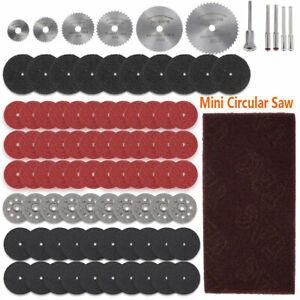 88PCS Mini Diamond Cutting Discs Wheel Blades+Drill Bit For Dremel Rotary Tool++