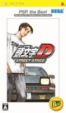 PSP SEGA INITIAL D STREET STAGE PSP the Best Japan Import Game Japanese