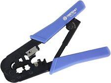 Trendnet Crimping Tool, 8P/Rj-45 6P/Rj-12, Rj-11 Crimp, Cut, Strip Tool,